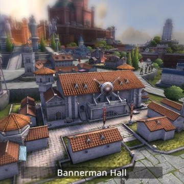 Screenshot of bannerman hall building.