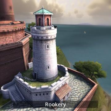 Screenshot of rookery building.